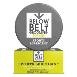 Below The Belt Sports Lubricant For Men