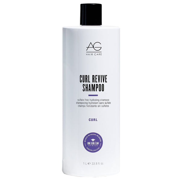 AG HAIR CARE CURL REVIVE SULFATE-FREE HYDRATING SHAMPOO