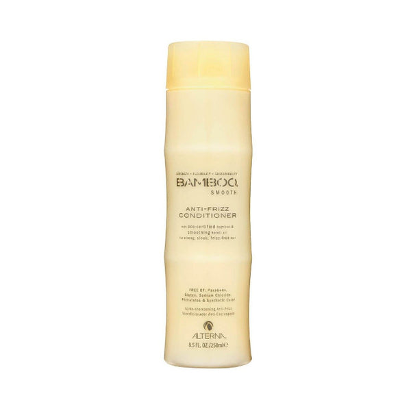 Alterna Bamboo Anti-Frizz conditioner builds stronger, frizz-free hair perfect for coloured hair.