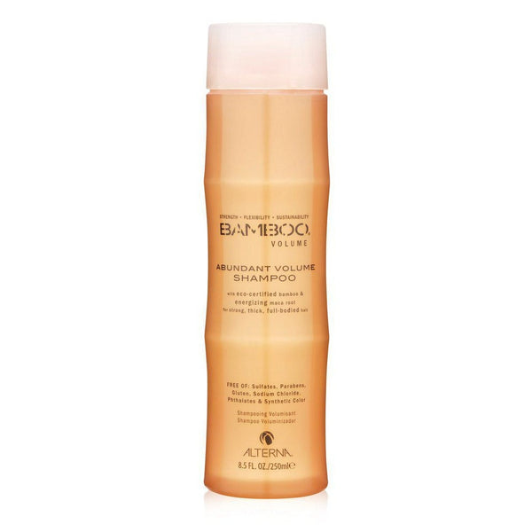 Alterna Bamboo Abundant Volume Shampoo helps with body and volume. Color Hold Technology is for colored hair.
