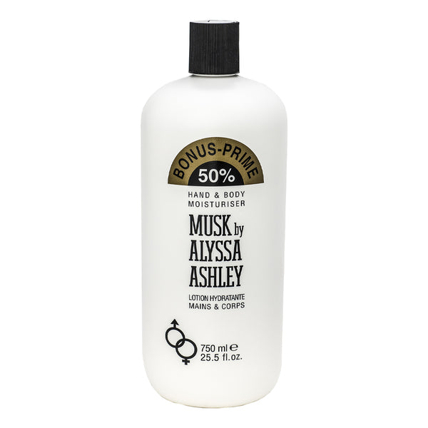 Alyssa Ashley Musk Hand and Body Moisturizer - 750mL