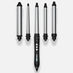 Amika The Chameleon 5 Barrel Intechangeable Curling Iron Kit