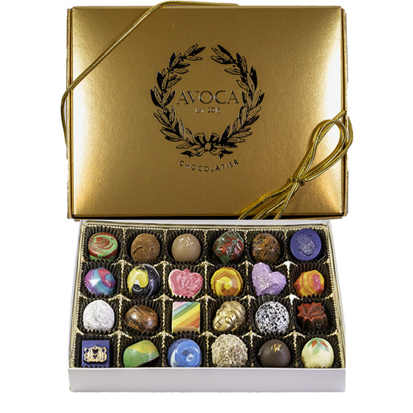 Avoca Handcrafted Chocolates from Toronto Purely Canadian 12 or 24 Box
