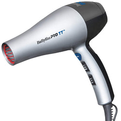 BaBylissPRO TT Tourmaline and Ceramic Hair Dryer Infused with professional Tourmaline and Ceramic technology, this hair dryer is designed to offer a frizz-free, smooth and silky hair experience.