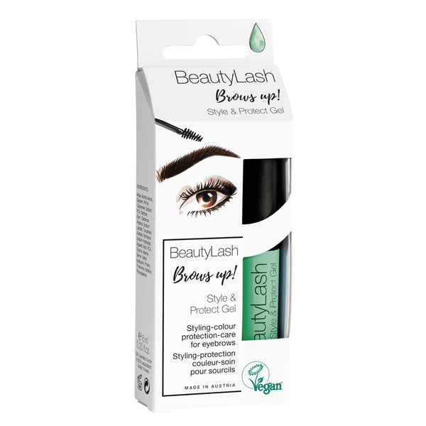 BeautyLash Style & Protect Eyebrow Eyelash Gel With 3-in-1 Formula