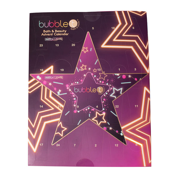 Bubble T ParTea Lights Ultimate Star Advent Calendar