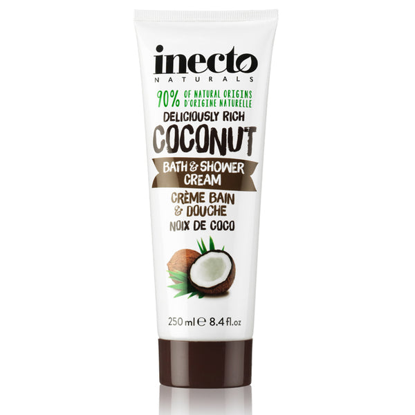 Inecto Naturals Coconut Bath & Shower Cream
