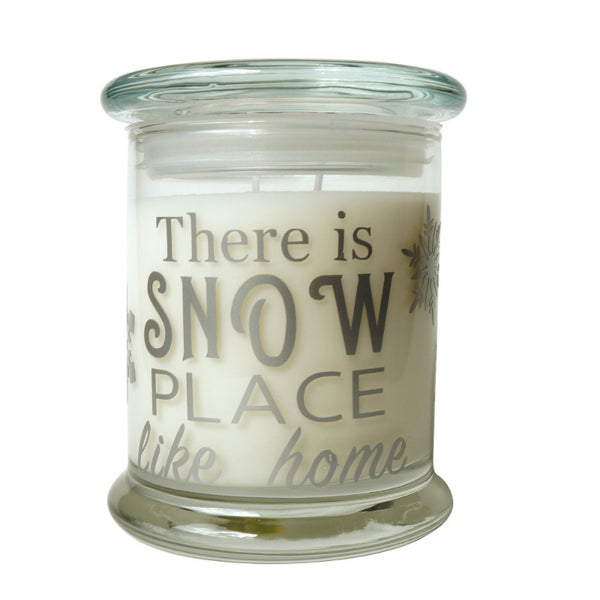 Cola Candle Company There Is Snow Place Like Home Green Tea And White Pear Candle