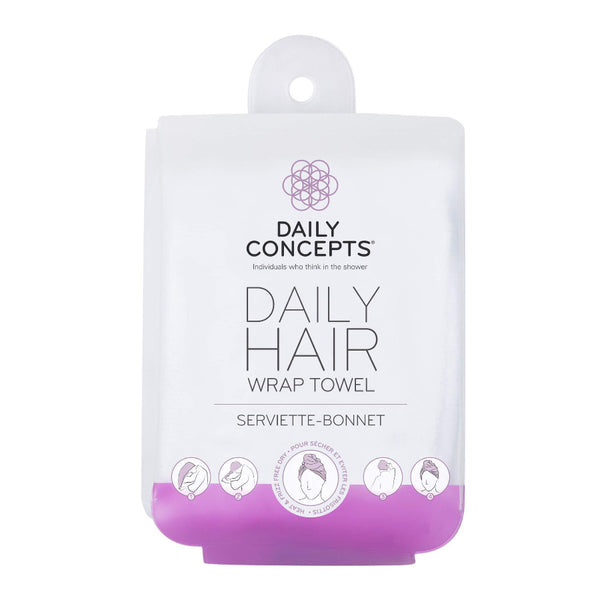 Daily Concepts Hair Towel Wrap  We know it goes without saying but your Hair Towel will be your new BFF for after the bath, shower, gym or during your beauty rituals.