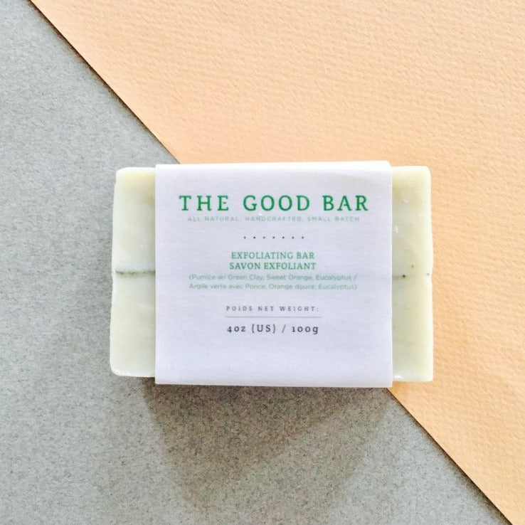 The Good Bar Exfoliating Facial Bar