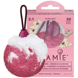 Foamie Shower Sponge - Berry Blast