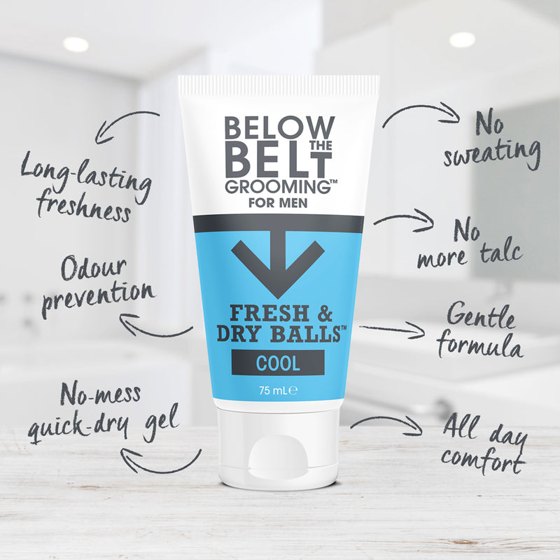 Below The Belt Fresh & Dry Balls - Cool