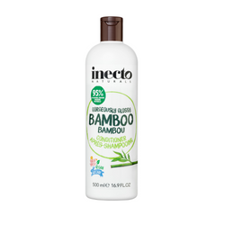 Inecto Naturals Bamboo Conditioner (500mL)  GORGEOUSLY GLOSSY BAMBOO CONDITIONER - Say hello to shine with our Gorgeously Glossy Bamboo Conditioner.