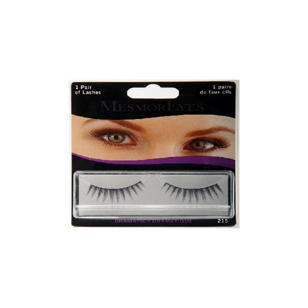 MesmorEyes Ultra Glam Lashes are human black hair false lashes