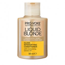 Provoke Liquid Blonde Colour Care Shampoo Travel Size 50ML