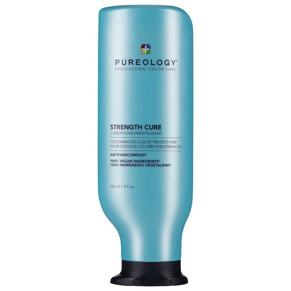 Pureology Strength Cure Conditioner is colour safe, best for shine and damaged hair 266ml/9oz