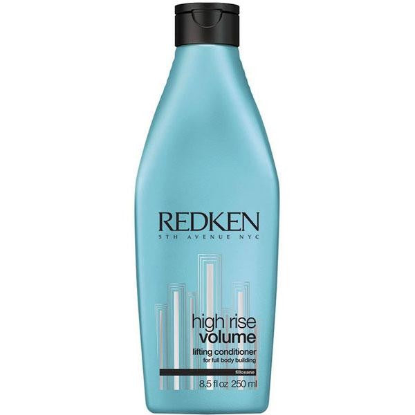 Redken High Rise Volume Lifting Conditioner; Lightweight detangling and volumizing conditioner for fine/flat hair with a body-boosting blend of Filloxane, softening and silicone polymers that creates lift and body.