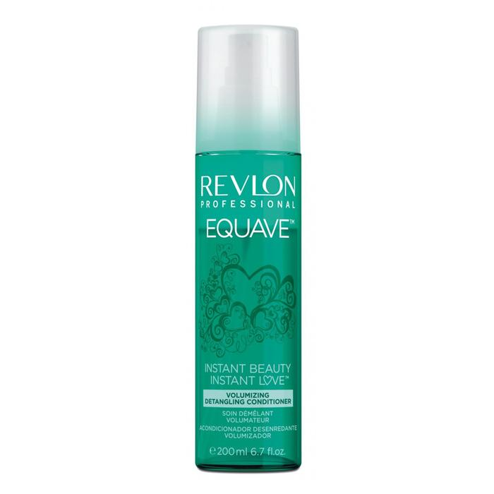 Revlon Equave Instant Leave-In Detangling Conditioner For Fine Hair   A light, keratin-enriched bi-phase formula that instantly detangles fine and fragile hair.