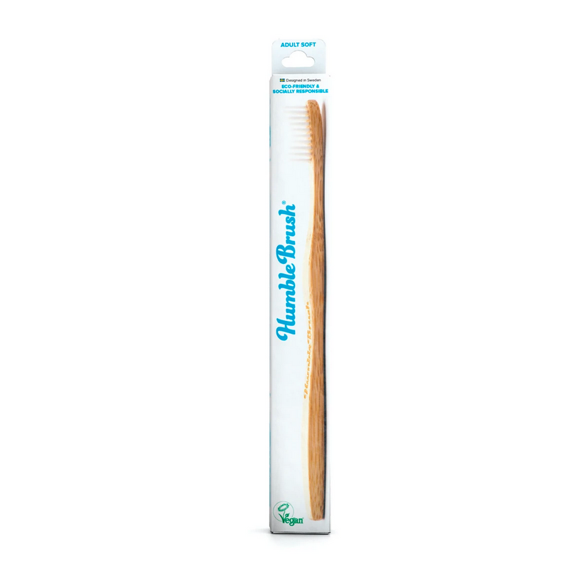 The Humble 100% Biodegradable Sustainably Grown Bamboo Toothbrush