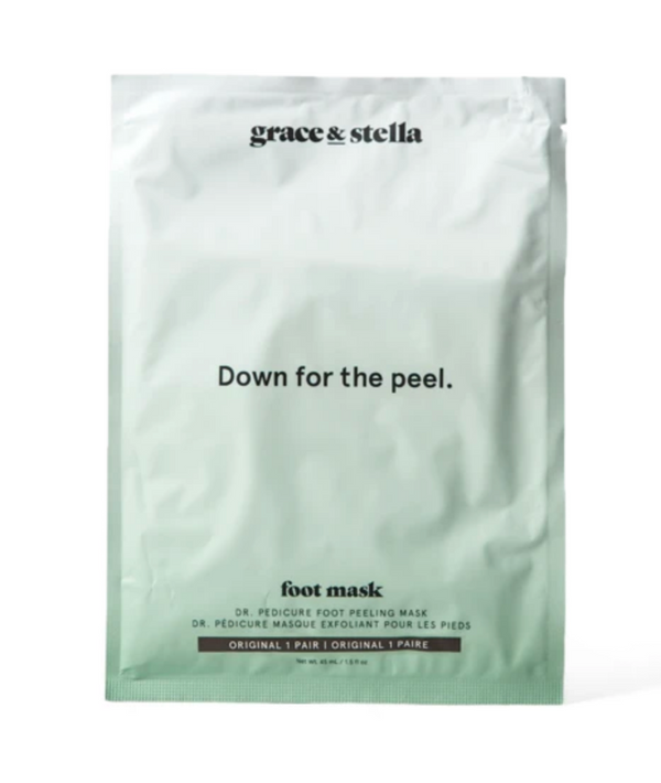 Grace & Stella Dr. Pedicure Foot Peeling Mask For Dry Cracked Foot