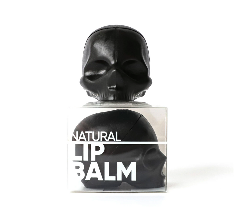 Rebels Refinery Skull Lip Balm 100% Natural in Mint or Passion Fruit