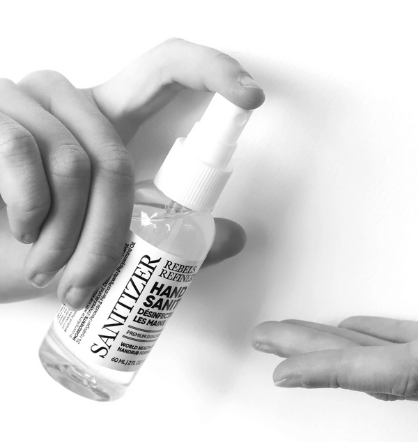 Rebels Refinery World Health Organization Hand Sanitizer Formulation