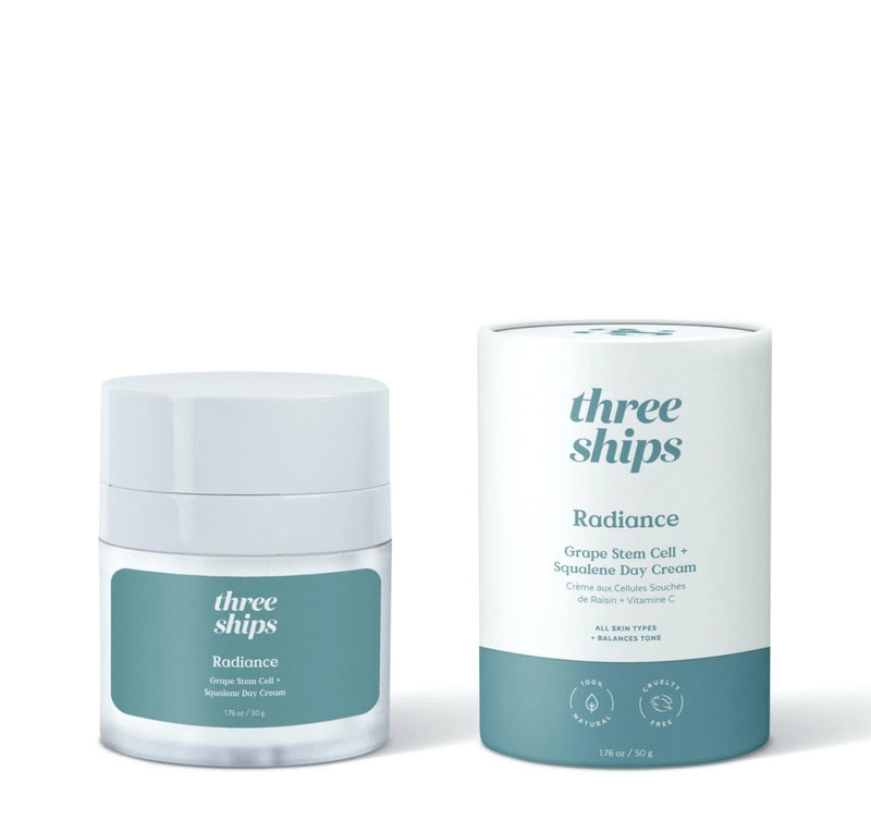 Three Ships Radiance Grape Stem Cell + Squalene Day Cream