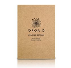 Orgaid Organic Anti-Aging & Moisturizing Sheet Face Mask Skincare