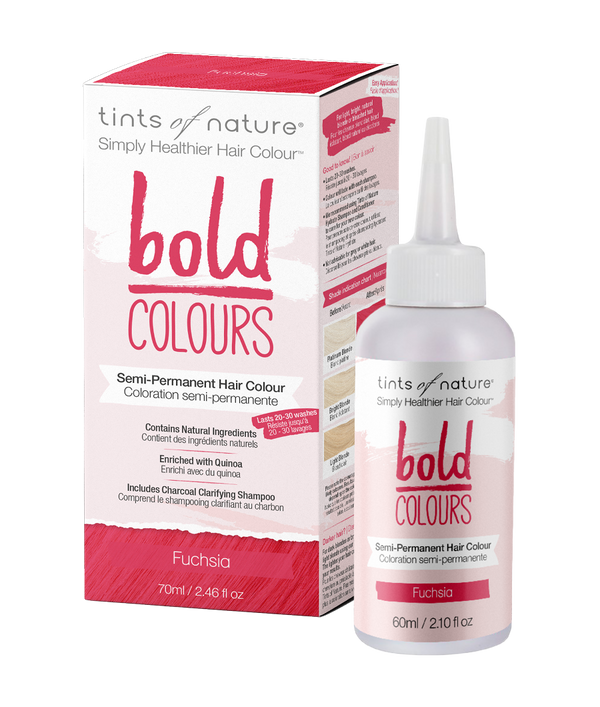 Tints of Nature Bold Colours - Bold Fuchsia Semi Permanent Naturally Derived Ingredients