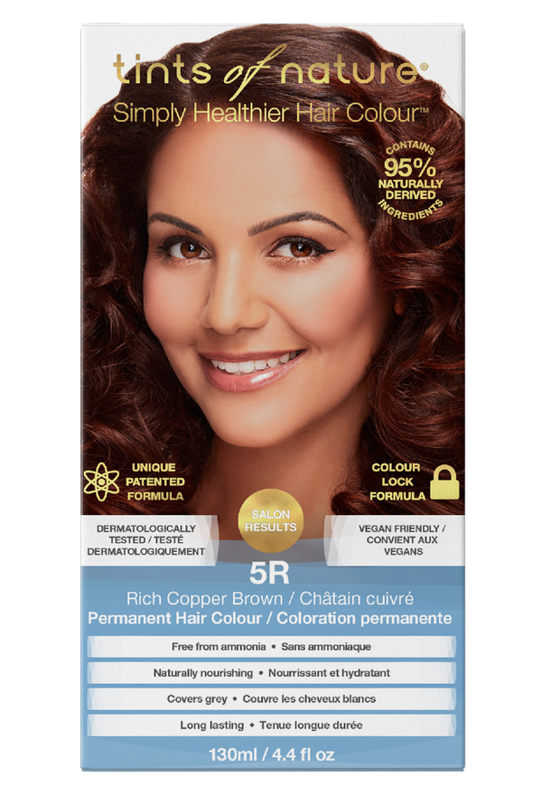 Tints of Nature Rich Copper Brown - 5R - Free of Ammonia Vegan Friendly