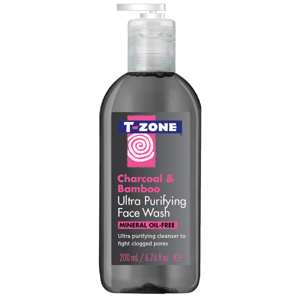 T-Zone Charcoal & Bamboo Ultra Purifying Face Wash