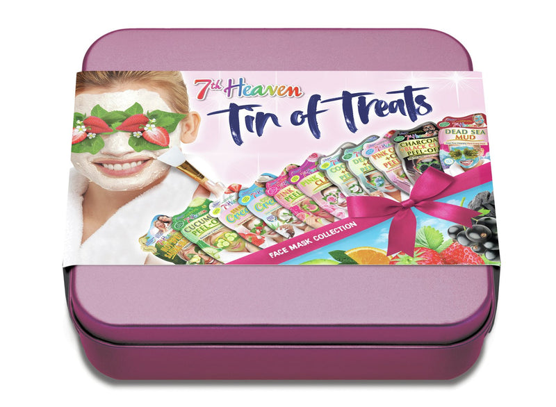 Tin of Treats - 7th Heaven - Self Care Gift Basket - Proceeds Go Towards Rethink