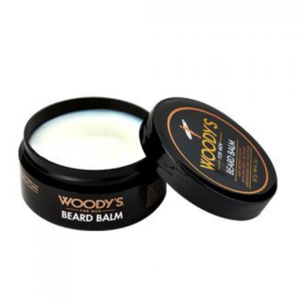 WOODY'S BEARD BALM OPEN