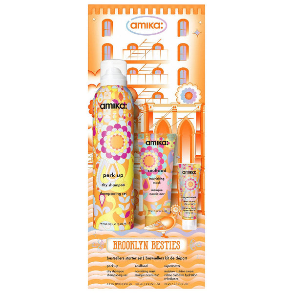 Amika Brooklyn Hustle Haircare Bestsellers Starter Set