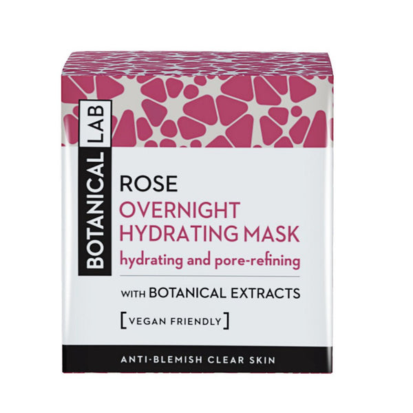 botanical overnight hydrating face mask skincare