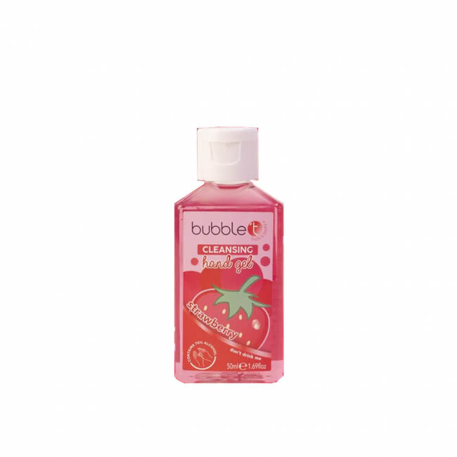 Bubble T Anti-Bacterial Cleansing Hand Gel (70% Alcohol) Strawberry