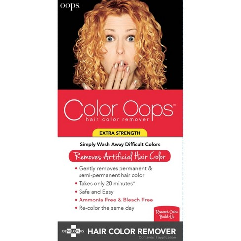 Color Oops Color Remover Extra Strength Hair Color Remover