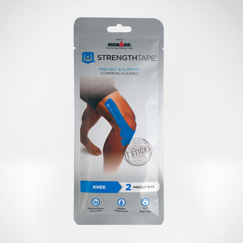 StrengthTape Kinesiology PreCut Tape - Knee - Shoulder - Ankle & Foot - Back & Neck - Calf & Quad