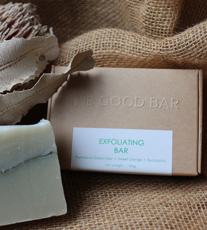 The Good Bar Exfoliating Facial Cleanser Bar