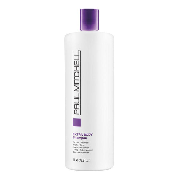 Paul Mitchell Extra-Body Shampoo Thickens Volumizes