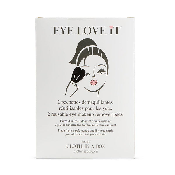EYE LOVE IT Reusable Eye Makeup Remover Pads