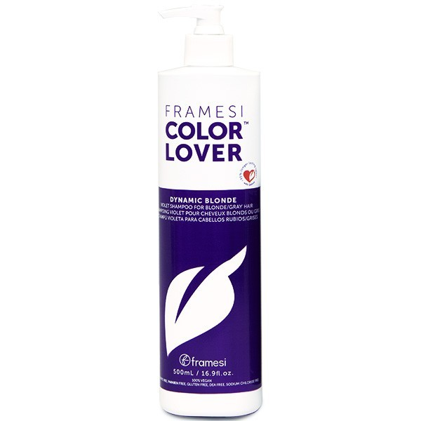 Framesi Dynamic Blonde Violet Purple Toning Shampoo