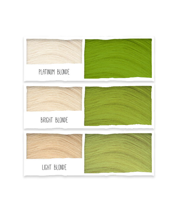 Tints of Nature Bold Colours - Green - Semi Permanent Hair Colour Naturally Derived Ingredients