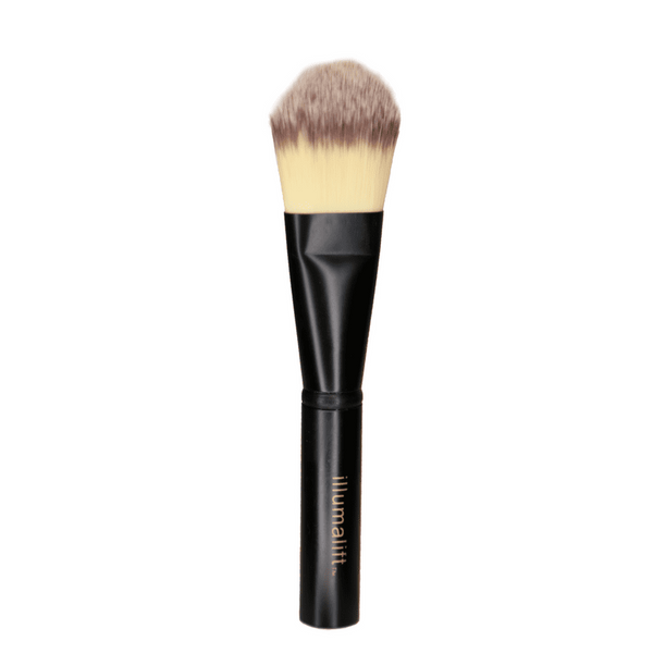 Illumalift Brush  This eco-friendly super soft application brush is perfect for creating that airbrushed look. The soft synthetic fibres pick up the product and blend on the skin perfectly. The metal corrosion-resistant handle and ferrule means you won't be replacing this brush anytime soon! Amazing value in this product!