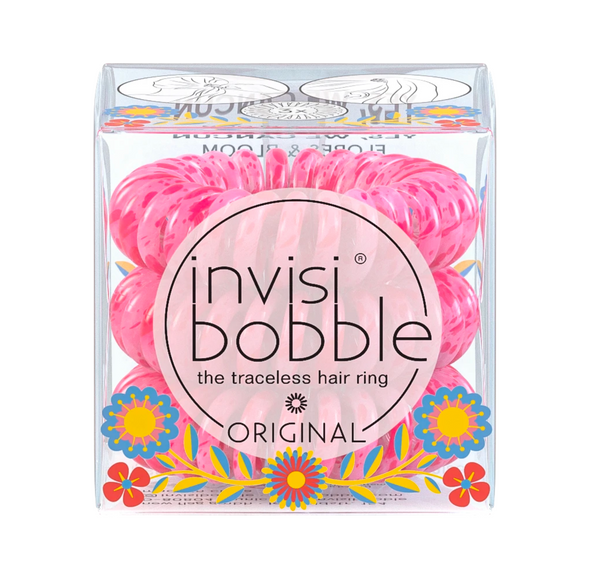 Invisibobble Yes We Cancun Original Traceless Hair Ring Flores And Bloom