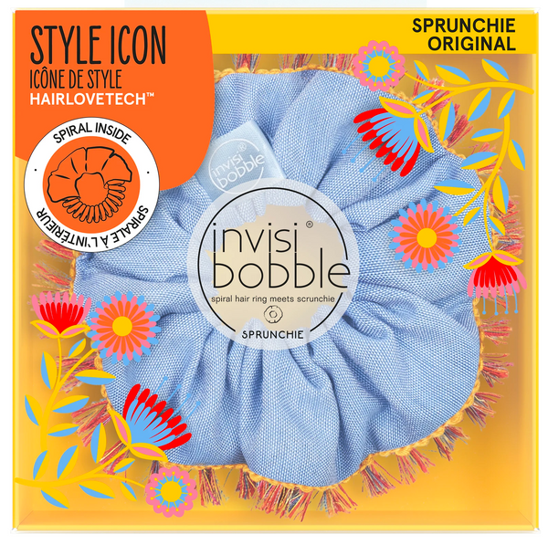 Invisibobble Sprunchie Hair Tie Hola Lola Flores & Bloom Collection