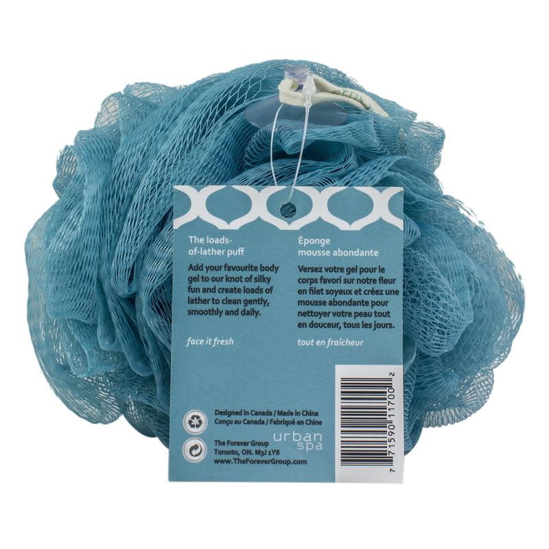 Urban Spa Loads-Of-Lather Bath Pouf Puff
