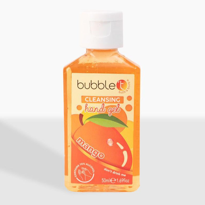 Bubble T Mango Anti-Bacterial Cleansing Hand Gel (70% Alcohol)