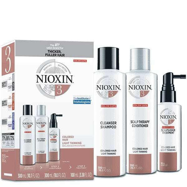 Nioxin Kit System 3 Coloured Hair Light Thinning