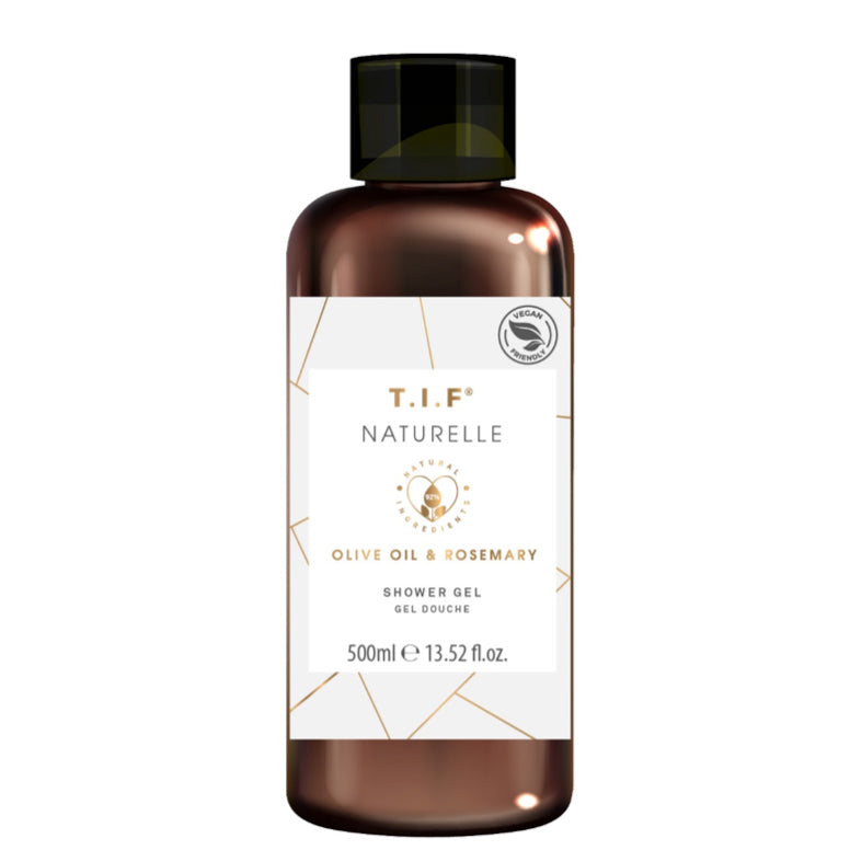 T.I.F Naturelle Olive And Rosemary Shower Gel